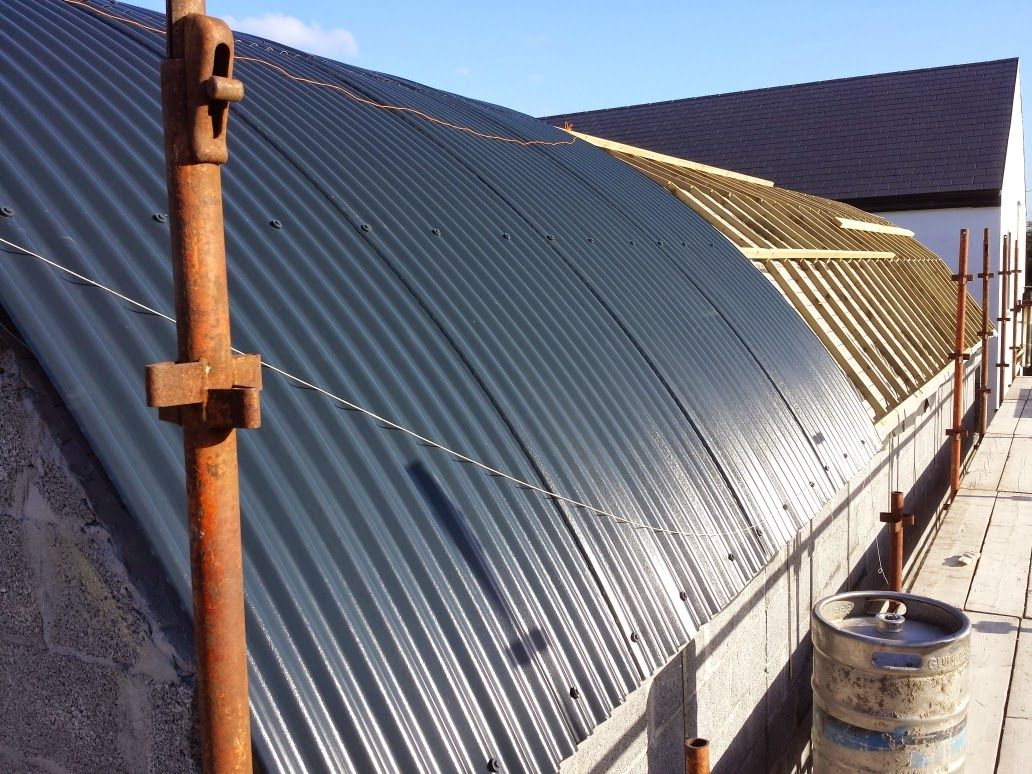 Curved Roof Roof Cladding Cladding Roof