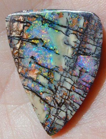 Boulder opal.