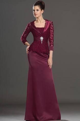 Vestidos de fiesta para senora elegantes