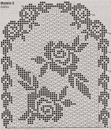 узоры и схемы для филейного вязания крючком вязание крючком и