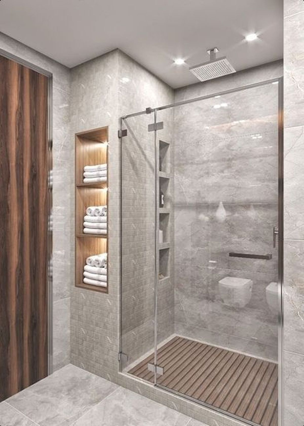 Best Of Modern Shower Ideas Small Bathrooms 50 Stunning Small Bathroom Makeover Ideas In 2020 Modern Master Bathroom Master Bathroom Design Small Master Bathroom