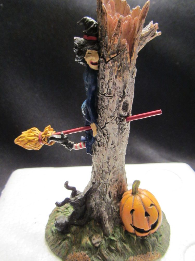 Dept 56 HONEST, THIS TREE CAME OUT OF NOWHERE! Halloween