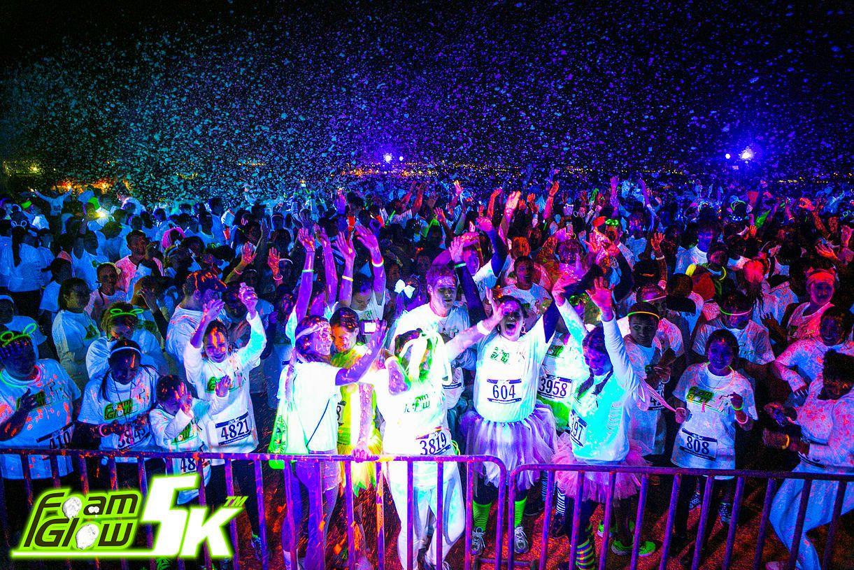Foam Glow 5k Is The Worlds Largest Foam Event Foam