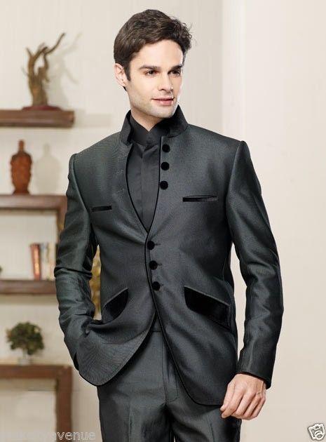 df73a73271 Men EHS Coat Suit Wedding Tuxedo Blazer Groom Indo Western Suits Jacket  Trouser  Handmade  Tuxedo