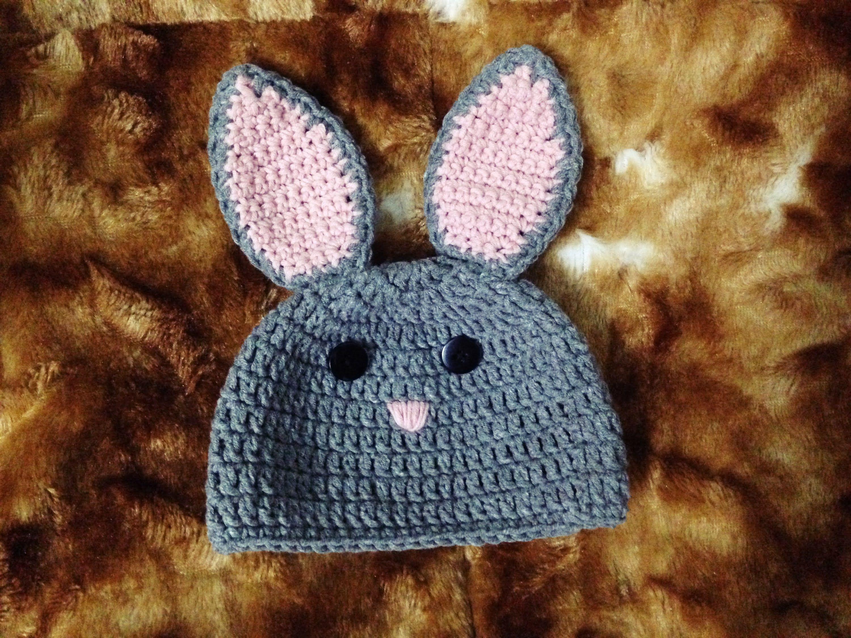 Crochet] Bunny Hat | Hướng dẫn móc mũ thỏ Bunny cho bé | caciulite ...