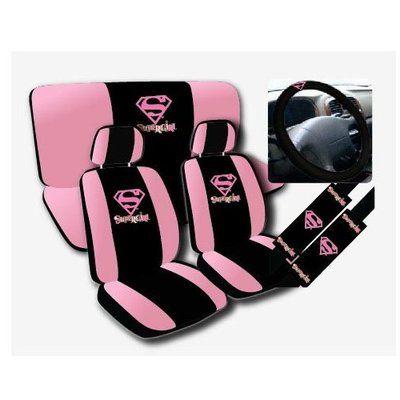 Black Marilyn Monroe Car Seat Covers