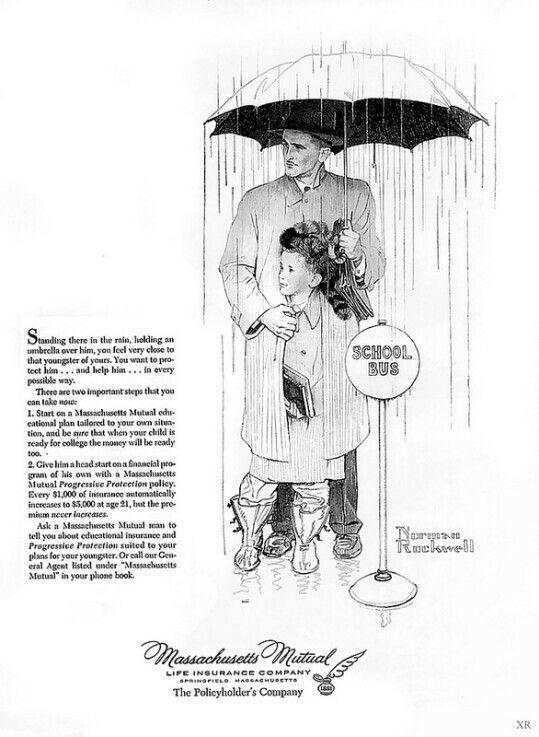 1957 Massachusetts Mutual ad