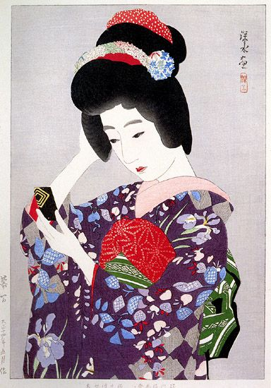 In the Interval by Ito Shinsui 1925