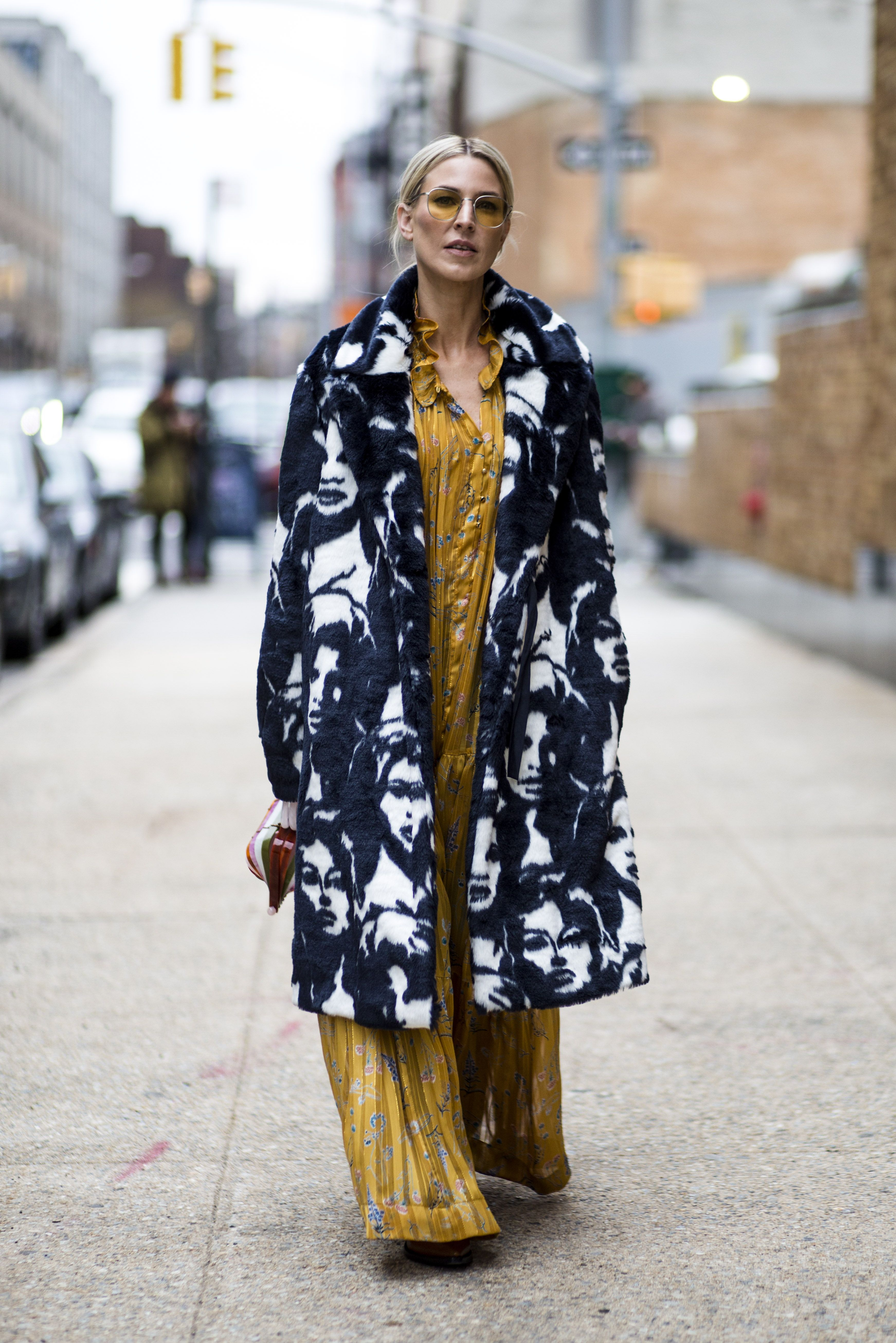 Spring nyfw brightest street style moments new photo