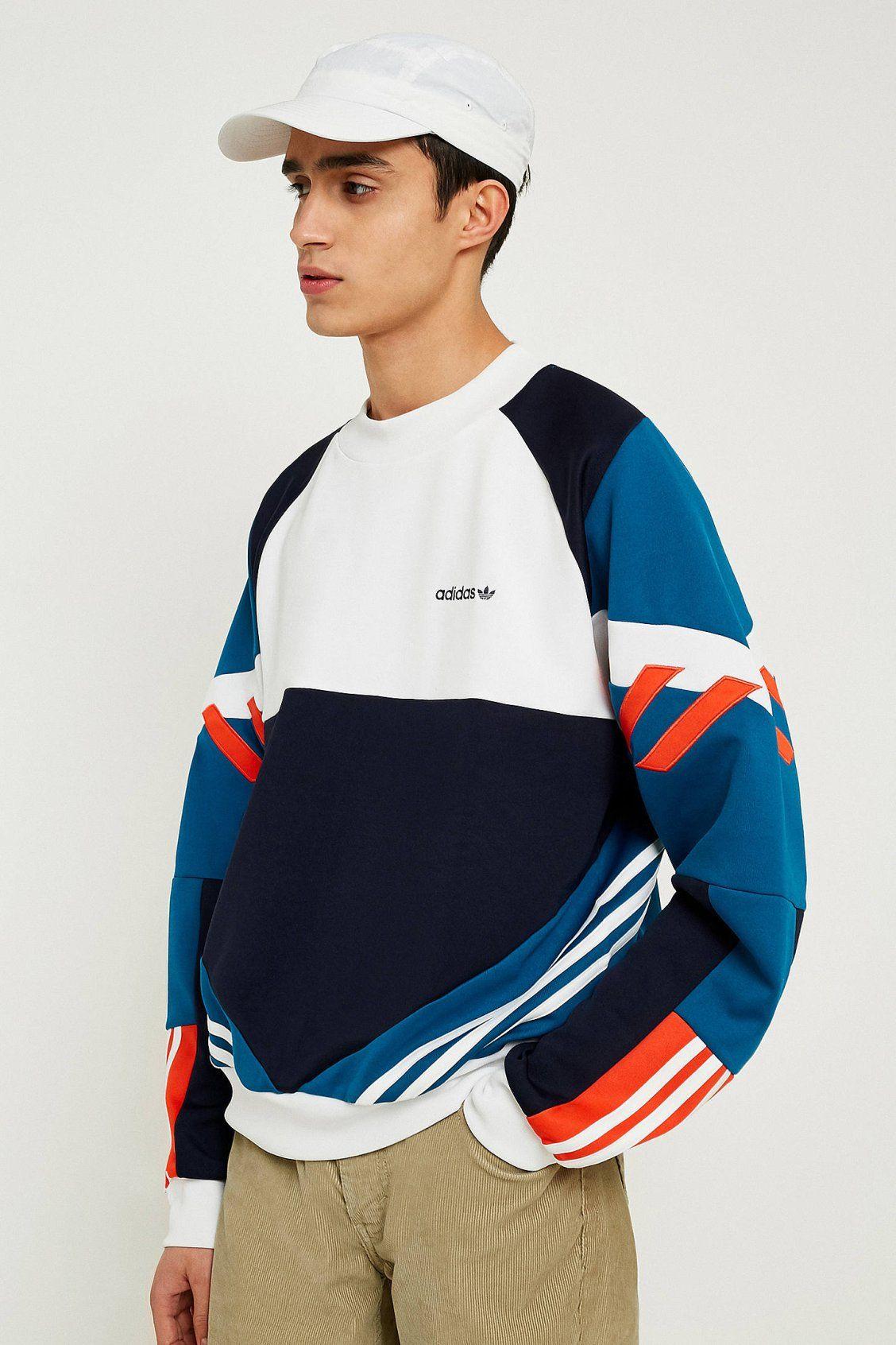 adidas Chop Shop Legend Ink Crew Neck Sweatshirt | Crew neck