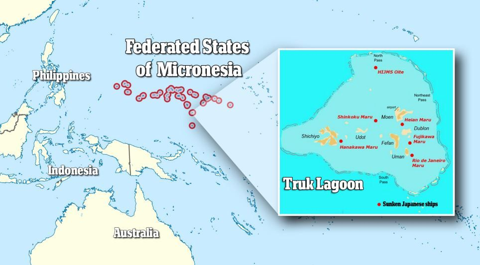 The ghost fleet of chuuk lagoon worlds biggest ship graveyard lies federated states of micronesia locatorg publicscrutiny Images