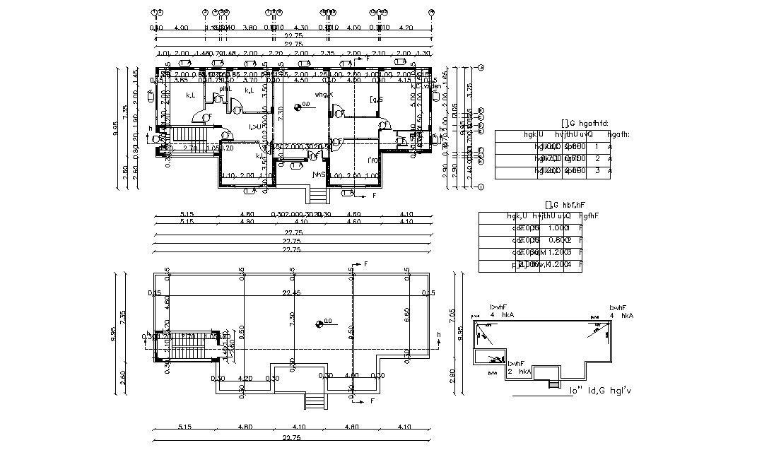 75 X 35 Feet Residential Bungalow All Floor Plan Floor Plans Floor Layout Modern Bungalow House Plans