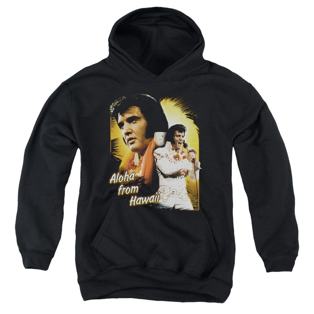 Elvis/Aloha Youth Pull-Over Hoodie in, Boy's