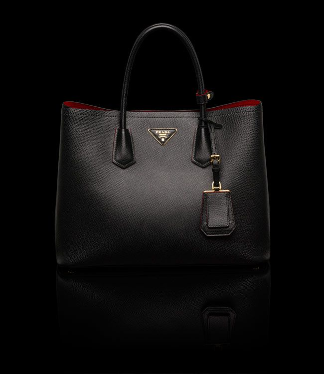exclusive shoes best shoes classcic Prada Double Bag - RED lining - the most POWERFUL energy for ...