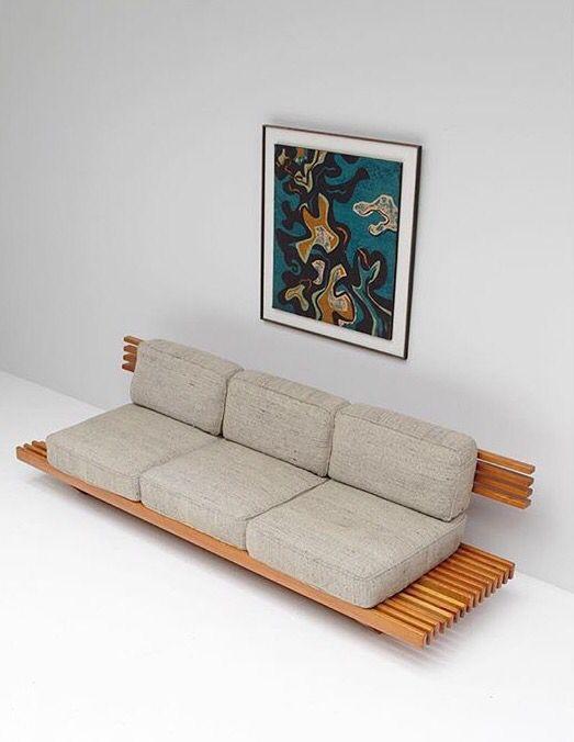 1960s handcrafted sofa design in 2019 pinterest for Wohnzimmer 1960