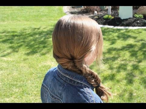 Fishtail Braid video tutorial | Cute Girls Hairstyles {Videos ...