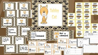 These are activities for Mr. Putter and Tabby story in Treasures.