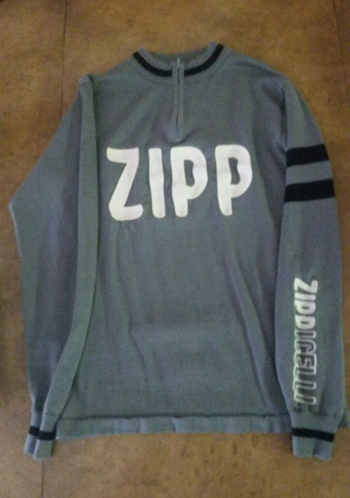 Men's Zipp Zippicelli Wool Cycling Jersey size M in Sporting Goods, Cycling, Cycling Clothing | eBay