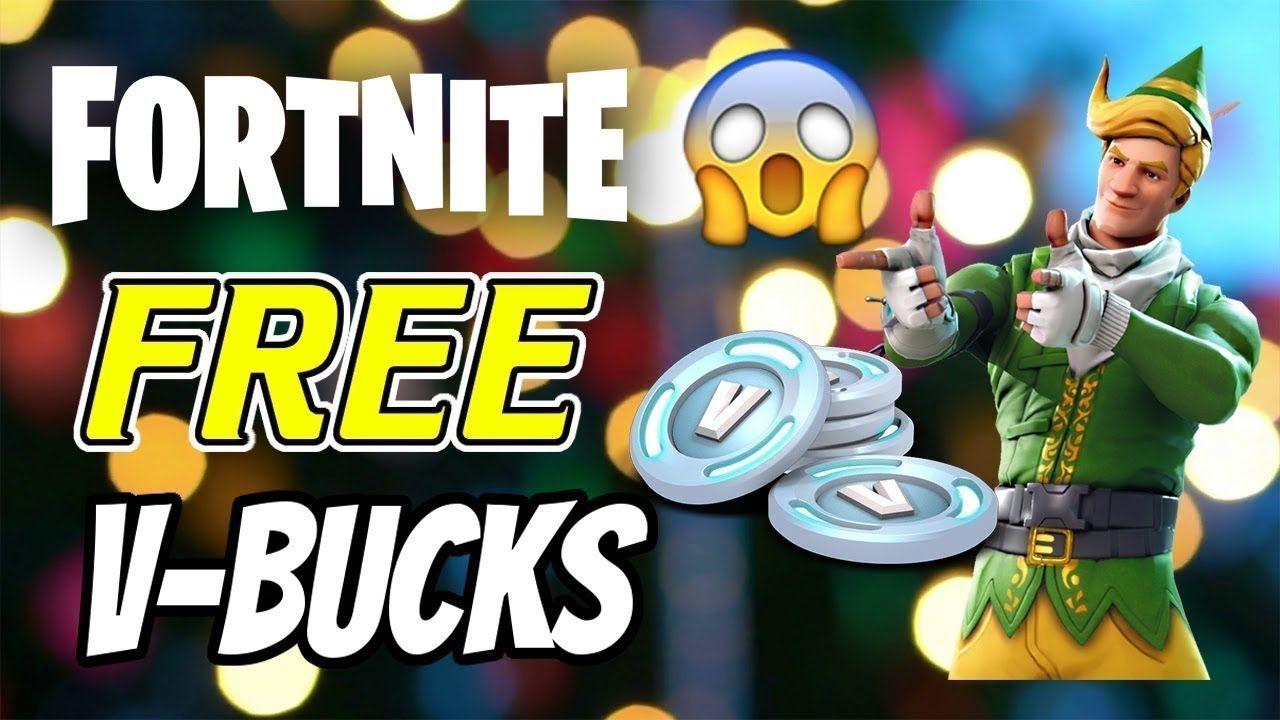 Free vbucks fortnite how to get free v bucks fortnite
