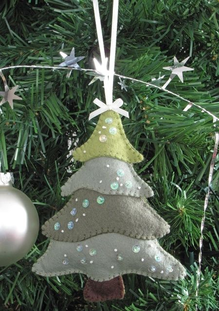 Handmade Christmas Tree Decorations Handmade Christmas Tree Spool Crafts Christmas Ornaments