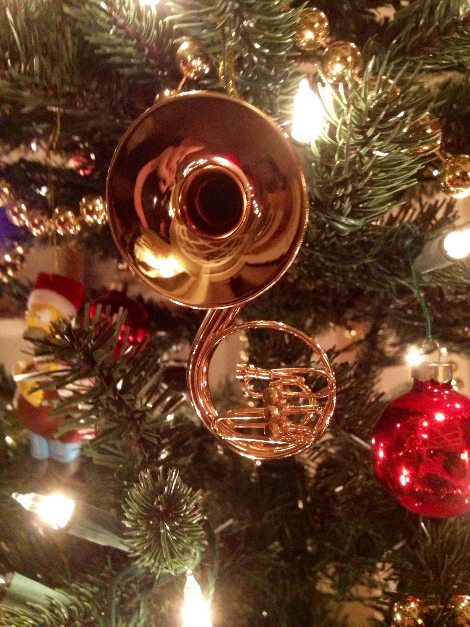 Sousaphone christmas ornament i want one so bad http