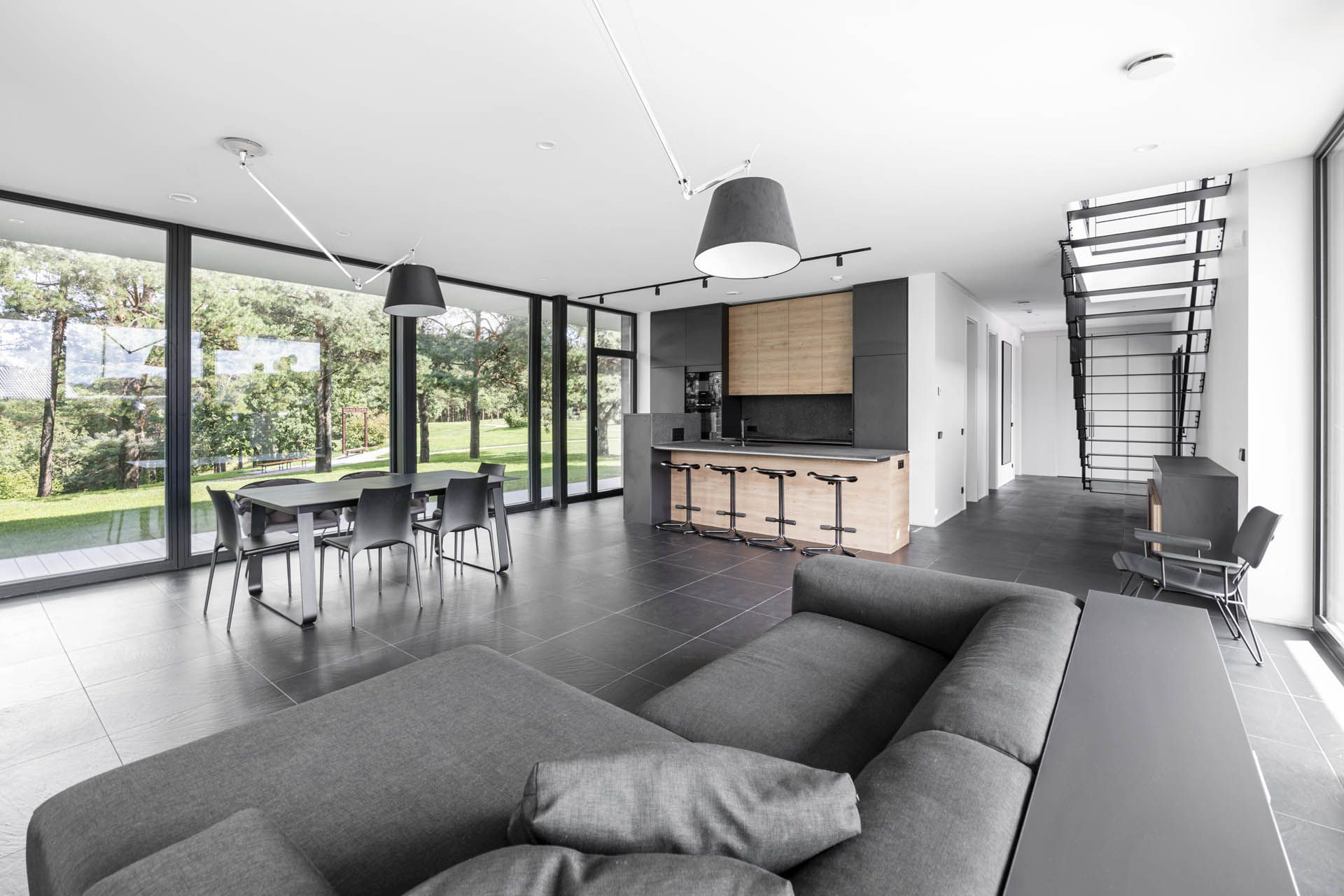 Panoramic View House House Architecture Design Architecture