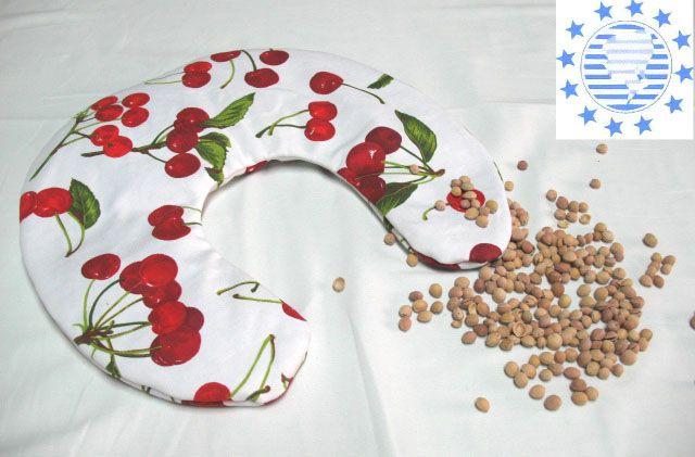 CORNETTO Almohada por cuello con huesos de cereza