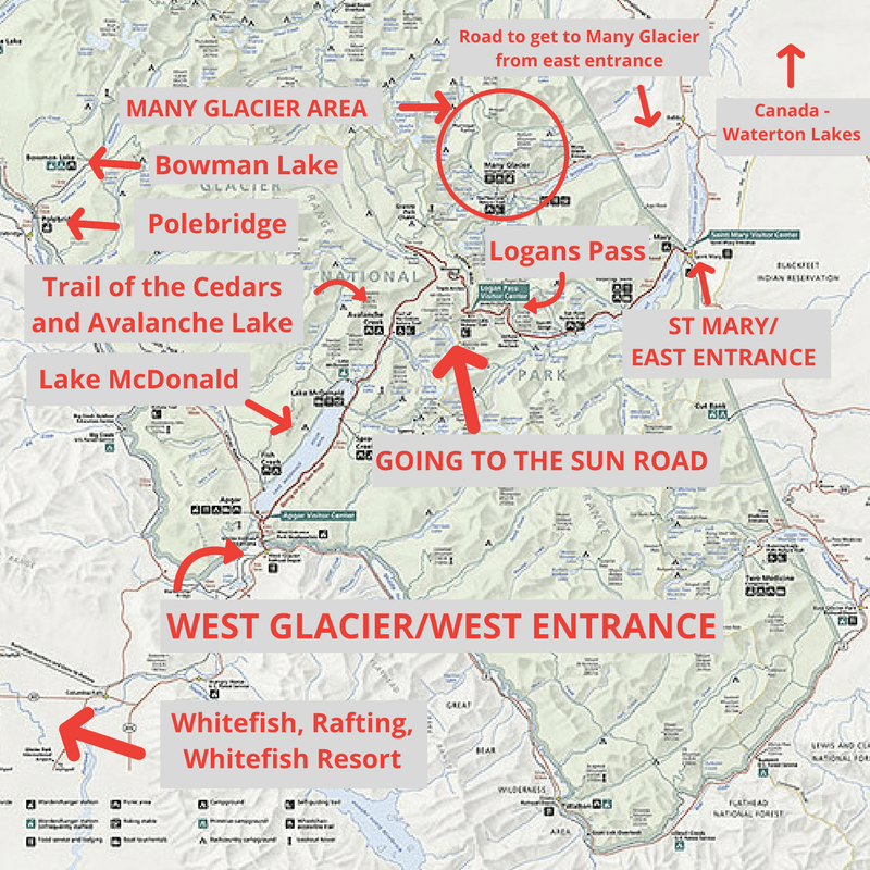 19 Magical Things To Do In Glacier National Park [Map ...