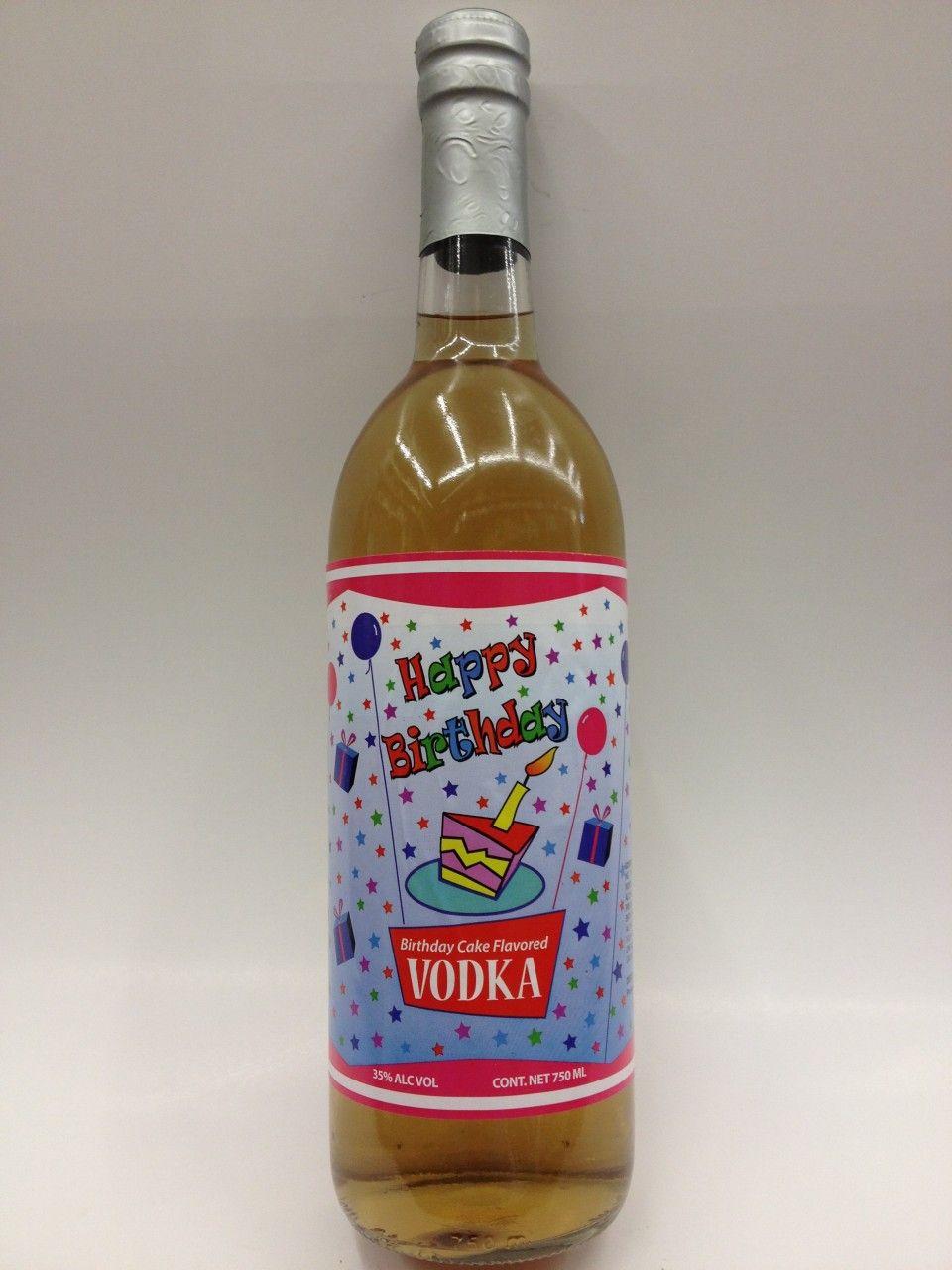 Phenomenal Happy Birthday Cake Vodka 750 With Images Birthday Cake Vodka Personalised Birthday Cards Akebfashionlily Jamesorg