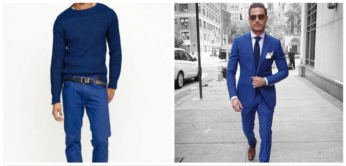 Menswear Trends 2018 Blue Pants And Suit For Men Men S Fashion