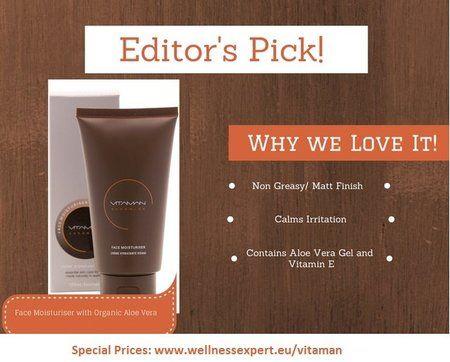 VitaMan Face Moisturizer  #moisturize #vitaminc #skincare - bellashoot.com   #face #softskin #healthyskin #review