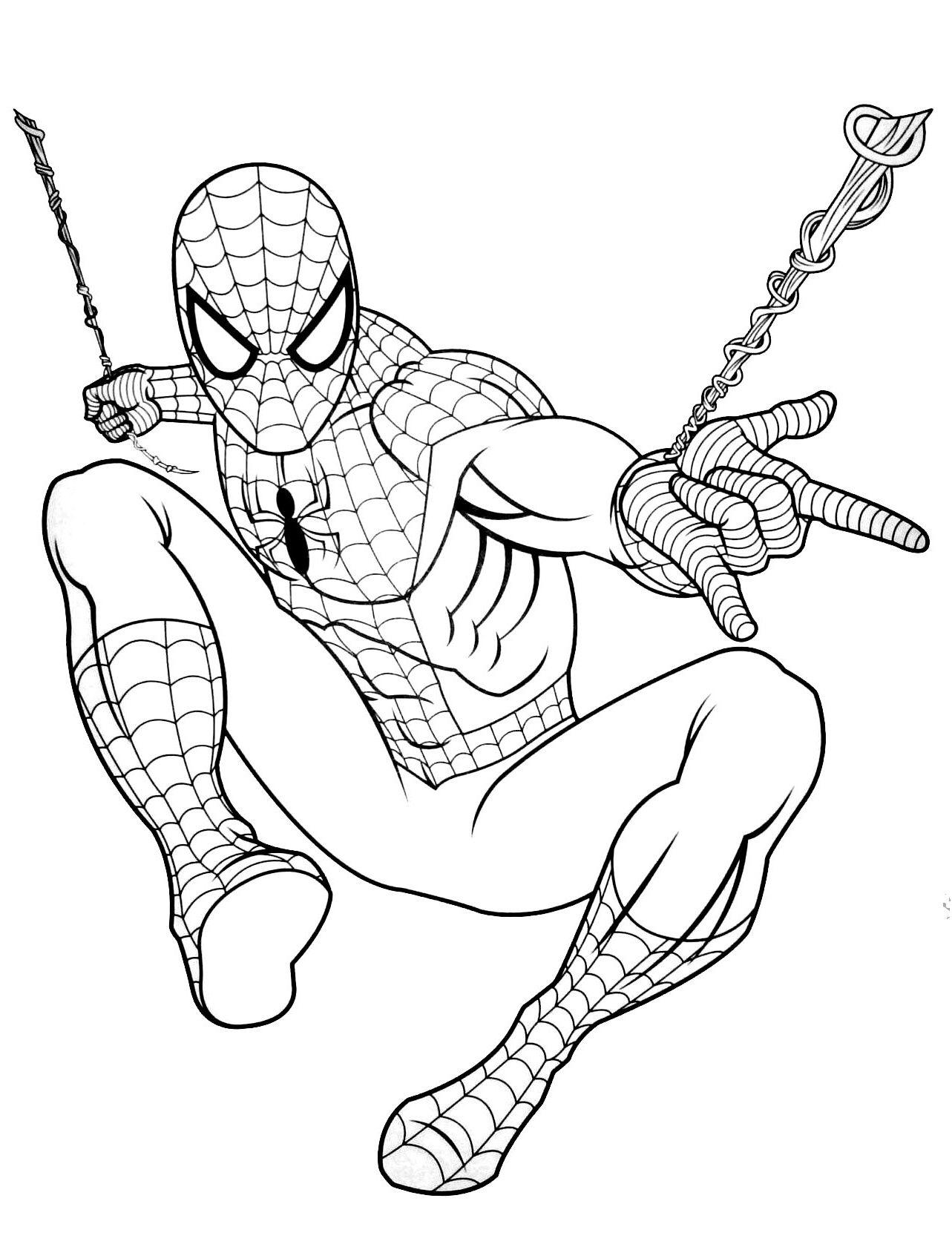 8 Inspirant De Spiderman Coloriage A Imprimer Galerie Buku Mewarnai Warna Buku
