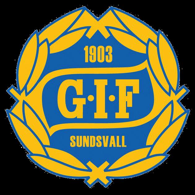 Gif Sundsvall Logo Sweden Soccer Soccer Sweden Football