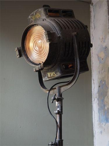 Ancien Rare Projecteur Cinema Hollywood Richardson 1930 40 Dans Son Jus Vintage House Cinema Dance Bands