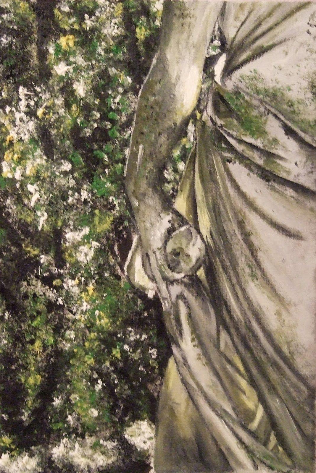 """""""MOMENTOS"""": Detalle de una estatua"""