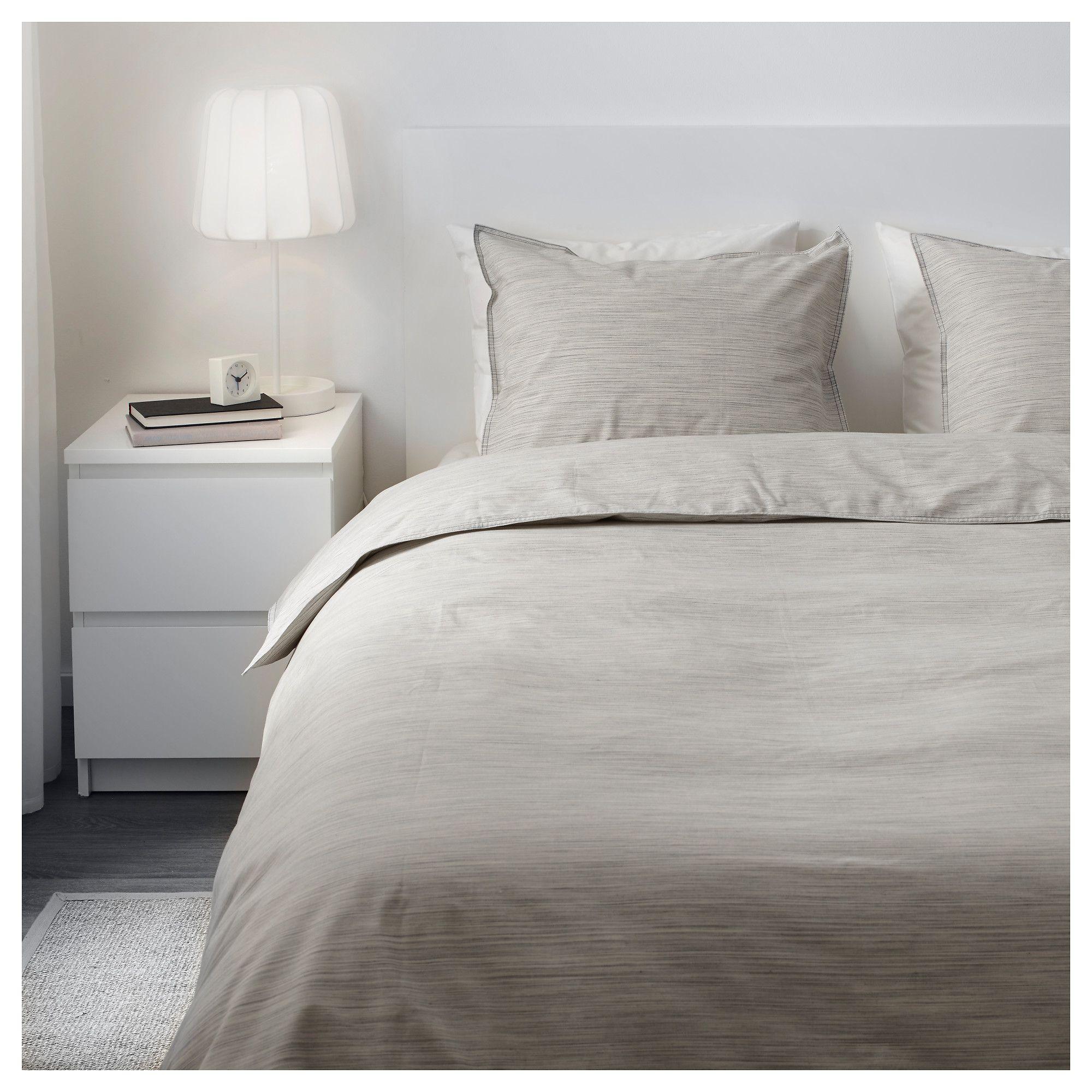 Ikea Skogsalm Beige Duvet Cover And Pillowcase S Beige Duvet