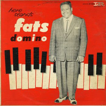 Fats Domino American Rhythm And Blues And Rock And Roll Pianist And Singer Songwriter Biggest Hit Blueberry Hill Album Covers Lp Vinyl Vinyl Art Cover
