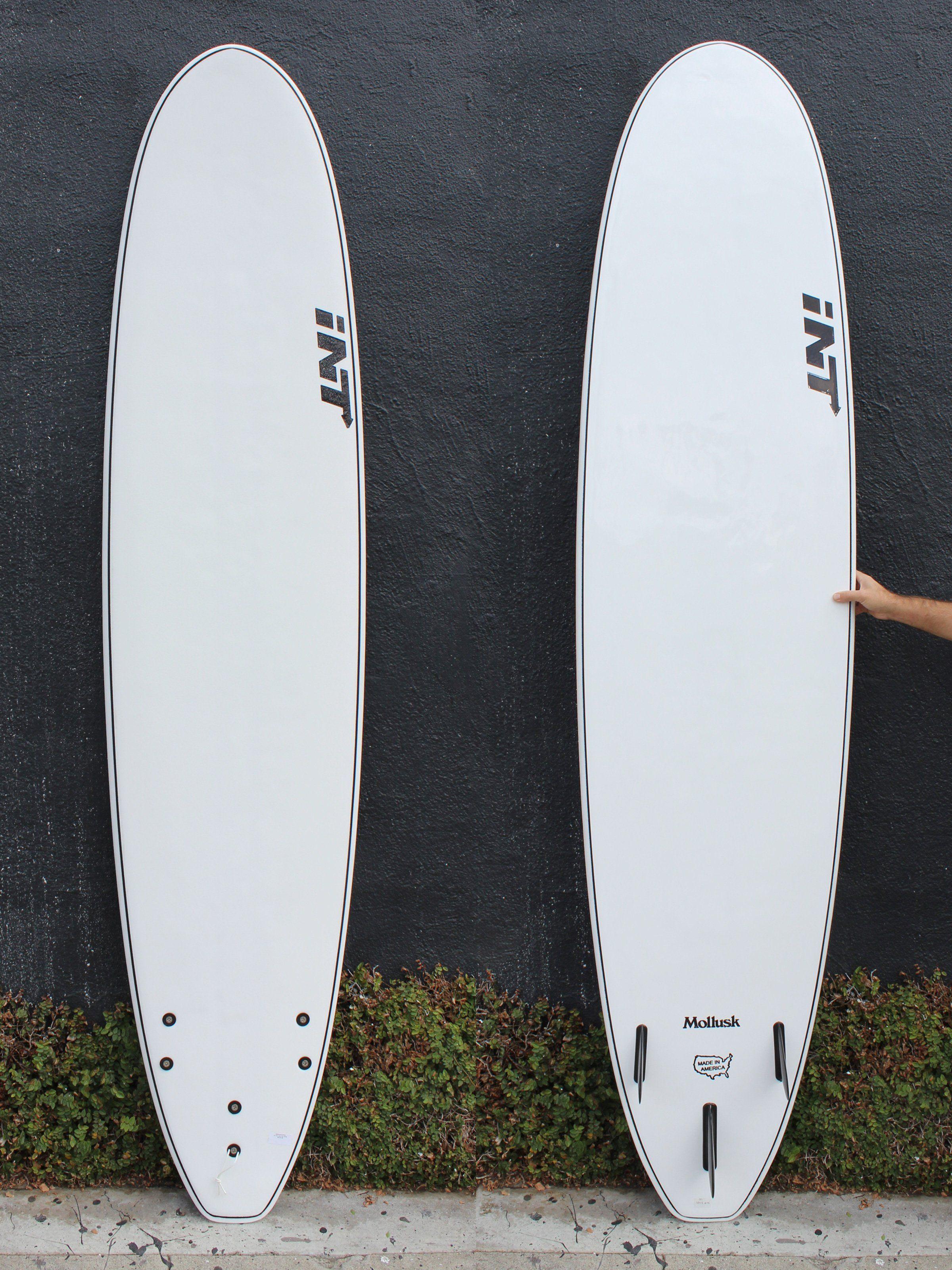 9 0 Mollusk X Int Longboard White Mollusk Surfboards Surfboard