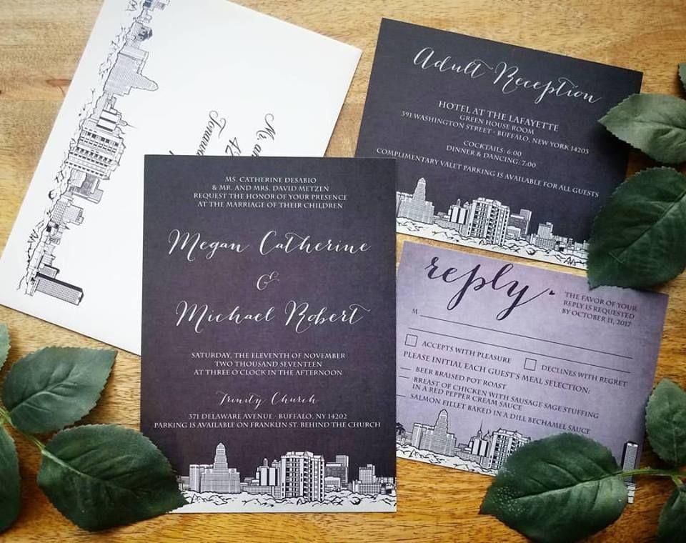Buffalove Wedding Invitations