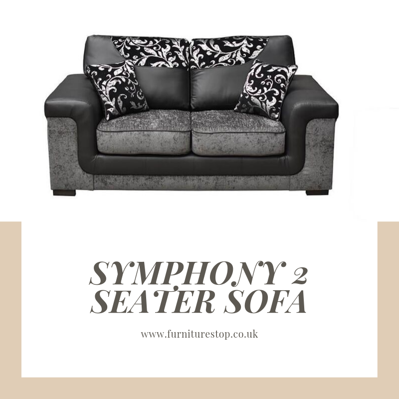 Introducing Our Symphony 2 Seater Sofa Https Www Furniturestop Co Uk Collections Small 2 Seater Sofas Products Symphony 2 Seat 2 Seater Sofa Sofa Seater Sofa