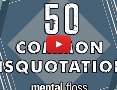 50 common misquotes and misattributed quotes corrected