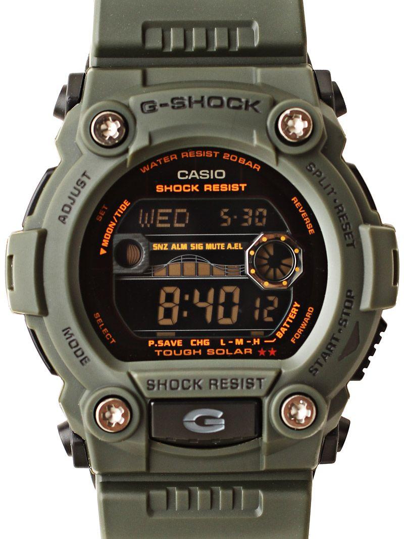 Gshock GR-7900KG  Solar  Military Series  Watch in  Green  129.99 ... 77d9d62bd