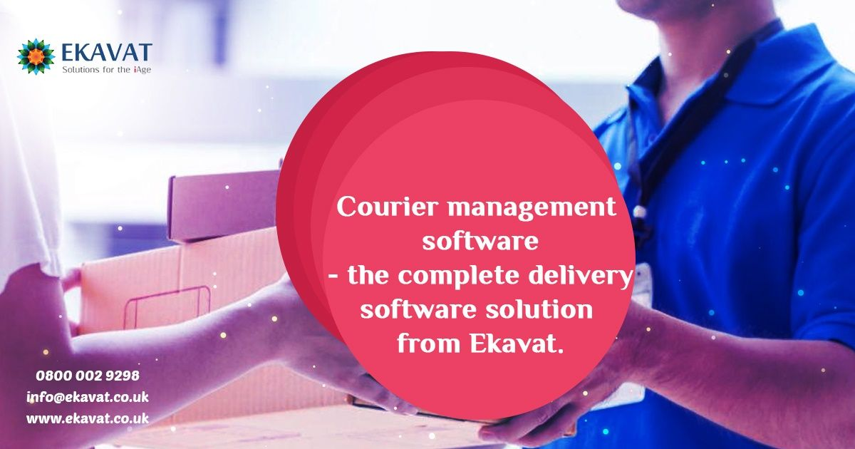 One Of The Best Logistic Courier Softwares The Courier
