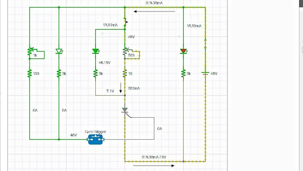 iCircuit App Circuit Simulator  SCR Powerblock Tester