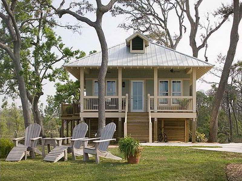 Small Beach Cottage House Plans Florida Gulf Coast Cottages Homes Home Luxury Mediterranean Designs Rumah Kebun Rumah Kecil Bungalo