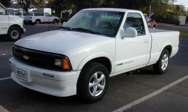 1997 Chevy S 10 Electric Version Of The Truck 500 Cars Produced From To 1998