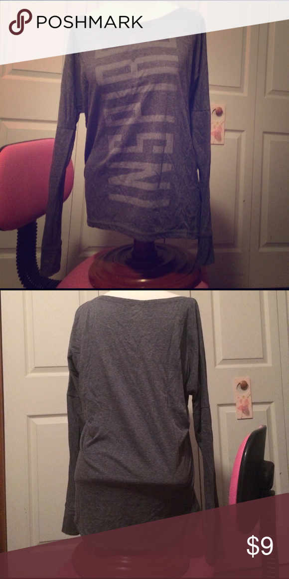 Inspire long sleeve workout shirt Medium long sleeve inspire workout shirt Old Navy Tops Tees - Long Sleeve