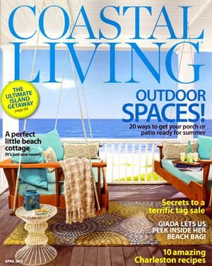 With a Coastal Living magazine subscription, you will see