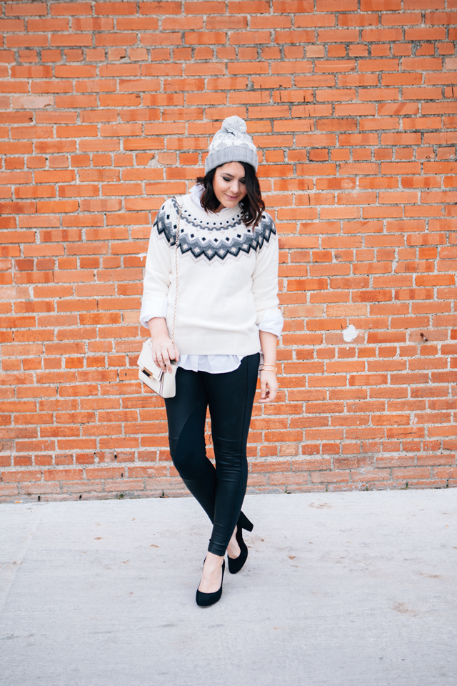kendieveryday Fair Isle Old Navy Sweater! | Some Style Bloggers ...
