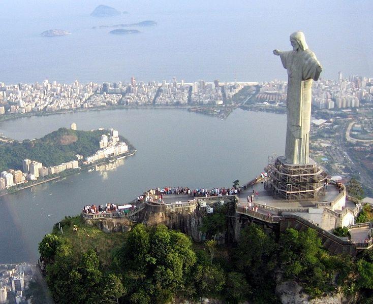 Cristo Redentor. Статуя Христа-Искупителя. Рио-де-Жанейро/ Бразилия